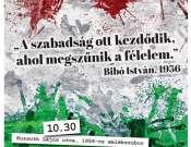 Megemlékezés az 1956-os forradalom eseményeiről