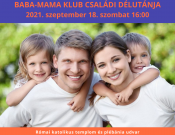 Katolikus Baba-mama klub családi délután