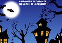 Halloween programok Monoron és környékén