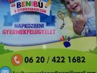 Benibú nyári napközis tábor
