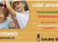 Stresszment hétköznapok - előadás anyukáknak