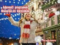 Adventi programok Monoron és környékén