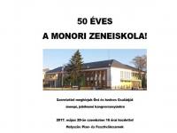 50 éves a Monori Zeneiskola