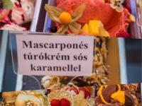 Az év fagyija: mascarpones túrókrém sós karamellel
