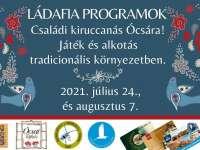 Ládafia programok - Családi kiruccanás Ócsára!