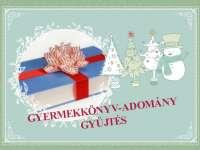 Karácsonyi gyermekkönyv adománygyűjtés