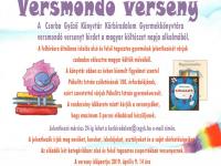 Versmondó verseny a Körbirodalom Könyvtárban a Magyar Költészet Napja alkalmából